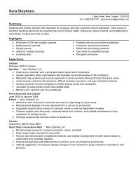 Resume Examples Samples Resume Templates And Cover Letter