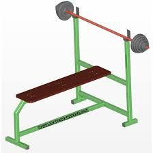 olympic flat bench press plan
