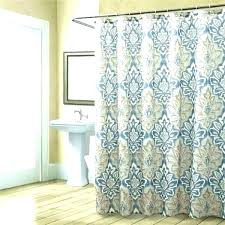 teal and brown shower curtain blue curtains set tree gray