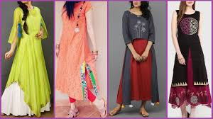 New Pakistani Kurta Design Latest Indian Pakistani Dresses Designs Beautiful Colorful Kurti Kurta Designs For Girls 2017