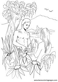 Small Picture Adam and eve bible coloring book