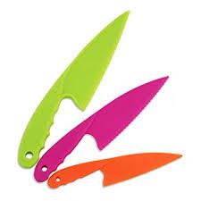 Jatidne <b>3pcs</b> Lettuce <b>Knife</b> Nylon Kitchen <b>Knives for</b> Kids Safe ...