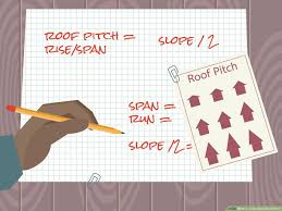 Roof Conversion Chart 3 Ways To Calculate Roof Pitch Wikihow