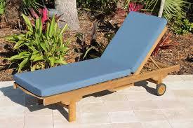 chaise lounger cushions sunbrella sapphire 1