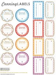printable labels for mason jars love the cute patterns and great colors of these free printable