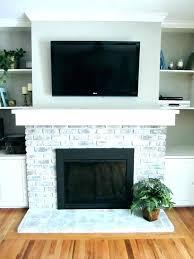 brick fireplace surround painted mantels black mantel surrounds ireland