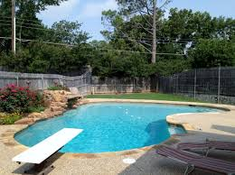... Mind Blowing Outdoor Swimming Pool Design Ideas : Exciting House Backyard  Design Idea With Cream Paving ...