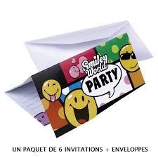 Carte Invitation Anniversaire Achat Vente Pas Cher