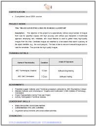 cv format for b e computer science 2 career pinterest