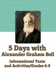 best alexander graham bell themed activities and ideas images  inventor alexander graham bell informational texts activities