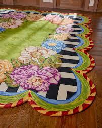 cutting garden rug 6 5