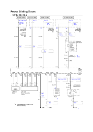 chevrolet truck express van wd l mfi ohv cyl power sliding door electrical schematic ex ex l 2002