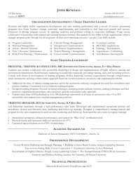 Resume Trainer Resume Sample