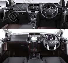 2018 toyota prado. contemporary prado 2018 toyota land cruiser prado vs 2014 interior intended toyota prado o