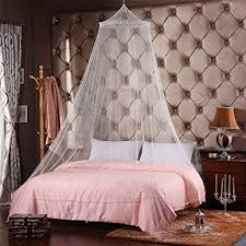 Amazon.com : QMET Jumbo Mosquito Net for Bed, Queen Size, White, 1 ...