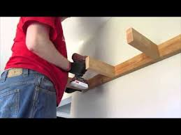 How To Make Floating Shelves Youtube