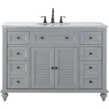 single bathroom vanities ideas. Wonderful Single Furniture 48 Inch Single Sink Shaker Style Bathroom Vanity With Choice Of  In Vanities Ideas E
