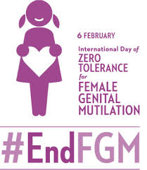 international day of zero tolerance for female genital mutilation  fgm logo