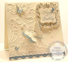 Elegant Birthday Card Barca Fontanacountryinn Com