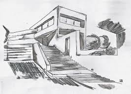 Architecture Moderne Maison Dessin Chaios Com