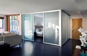 room dividers clear glass with black frames 7 26