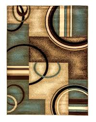 photo 5 of 11 chocolate brown area rugs multicolor contemporary aqua area rug and blue area rugs for home