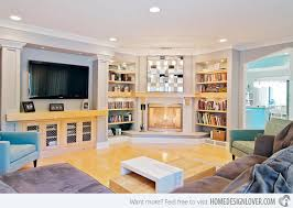 dual bookcases