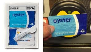 Stickers Fake Metro Real Spellingmistakes Oyster News Make Your Look Card