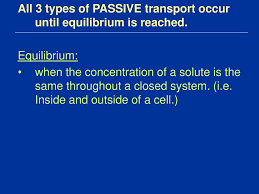 3 Types Of Passive Transport Chapter 7 3 Notes Part 2 Types Of Transport Ppt Download