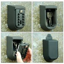 ... Key Organizer Box Combination Key Safe Wall Mounted With Rubber Case Key  Storage Home Improvement Home ...