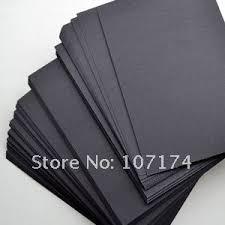 cheap black card paper black card paper deals on line at get quotations acircmiddot diy kraft paper high quality 8k 271mm 390mm black cardboard 8k black