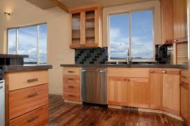 beech wood kitchen cabinets: thumb kitchen contemporary style beech with accent wood light color euro flair door reeded glass appliance