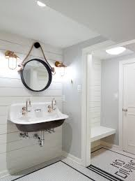 pool bathroom. Nautical Changing Room For Pool House With White Ship-lap And Fun \ Bathroom L