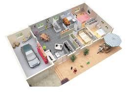 34 3 bedroom with garage floor plans