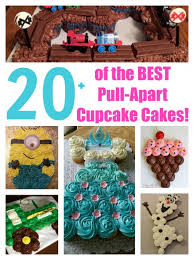 over 20 of the best pull apart cupcake cake ideas from kitchenfunwithmy3sons com