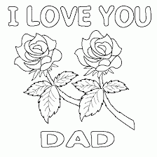 Small Picture Free Coloring Pages Printable Fathers Day Coloring Pages dad