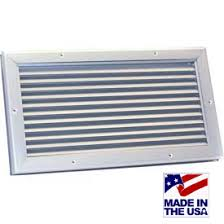 air conditioning grilles and diffusers. flanged heavy duty door louvers air conditioning grilles and diffusers