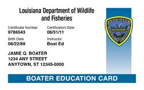 Boat Safety License Louisiana Course amp; Ed® Boating