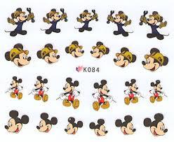 Nail Stickers Mickey K084