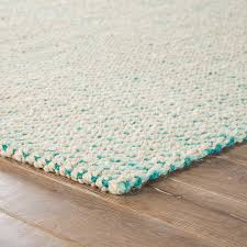 jaipur living almand natural solid white aqua area rug beach style area rugs by jaipur living