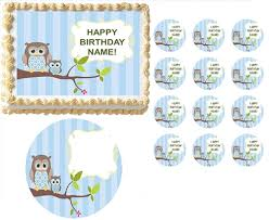 212 Best Baby Ideas Images On Pinterest  Nautical Diaper Cakes Baby Shower Owl Cake Toppers