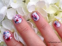 Paint Splash Nail Design How To Splatter Paint Nails Pretty Gossip