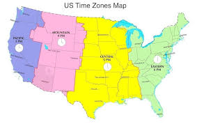 17 Categorical Time Zones Of The Us