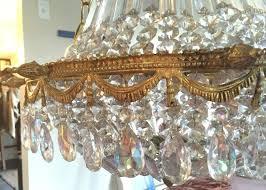 vintage chandelier restoration 4