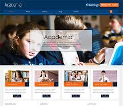 College Templates Education Website Sample Example Template College Websites