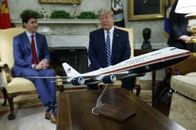 Trump Air Force One Design Trump Shifts To Talk Of Air Force One