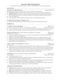 Gallery Of Resume Sample Double Major Weeklyresumesco Resume