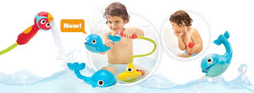 bath toys for babies toddlers yookidoo submarine spray whale