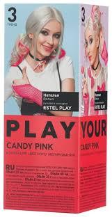 ESTEL Play <b>Краска для волос Коллекция</b> цветного мелирования ...
