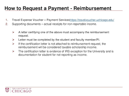 Student Travel Payments And Reimbursements Ppt Download